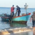 fishermen 10 meters from my bedroom door