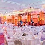 Crystal Ballroom Gala Dinner Setup