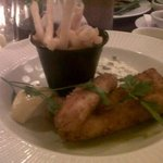 my cod goujons with tartare sauce and chips