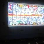 el techo del lobby