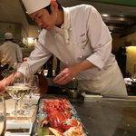 Wonderful Japanese Chefs at Sazanaka Restaurant