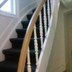 Stufen zum Zimmer/Escalier