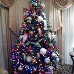 Creative Christmas Tree in Lobby
