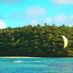 Kitesurfing @ Lucky's Beach house Vava'u