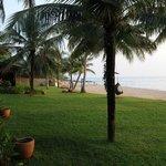 Viel Platz am Strand und zwischen den Bungalows