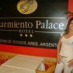 Chegando no Hotel primeiro dia em Buenos Aires