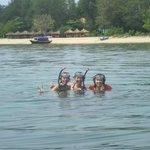 snorkeling at gili meno, lombok