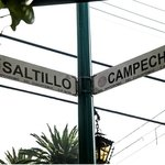 Cross streets:  Saltillo and Campeche
