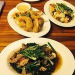 Coccodrillo e tempura