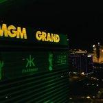 MGM Grand 28th floor at night