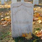 A Union Soldier's grave