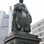 Goethe's statue