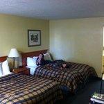 Room clean. Beds decent.