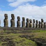 The Moai at Easter Island