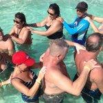 Water aerobics with Eric