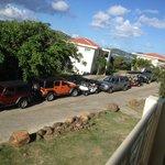 Plenty of cars..But NO parking spots!