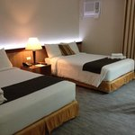 Twin beds deluxe room
