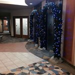 Beautiful Lobby Decorations for the Xmas season! Clarion Hotel Winnipeg  |  1445 Portage Avenue,