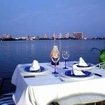 Excelente sitio para una cena romántica