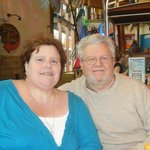 Us at dinner at Margaritaville, Myrtle Beach,SC  11-26-13