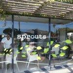 Sprouts Bistro shopfront