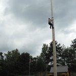 pole climb
