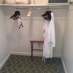un-naturally large (possibly haunted) closet