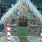 4000 Lb Gingerbread House - 3 months in the making.