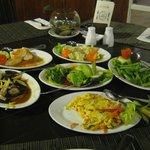 Delicious Vegetarian Dinner
