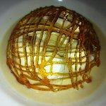 """magnifique """"ile flottante crème anglaise aux marrons"""""""