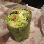 Yummy, yummy, yummy greek wrap!