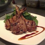 Local grass fed lamb cutlets, a regular special at Milch
