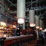 Bar in reception