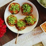 Amazing raw food meals, here is raw pizza
