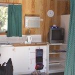 dentro do cabin
