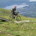 The world-class mountain biking track