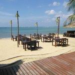 Restaurant et bar de plage