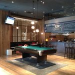 Pool in the bar!