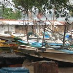 Fishing boats at Galle