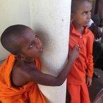 Young monks at Island Temple, Matara