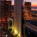 la notte Abu Dhabi
