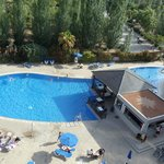 la piscine vu d'en haut
