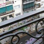 Lindo balcón sobre Callao.