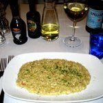 Risotto with Small Shrimp