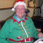 Barbara in festive mode!