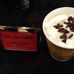 Free hot chocolate bar