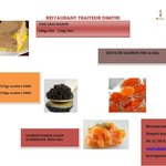 Foie gras, saumon maison caviar oeufs de saumon sauvage