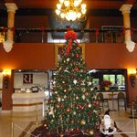 Decoración Navideña del hotel