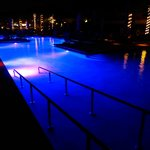 Nightime Pool