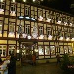 Weisser Hirsch im Advent